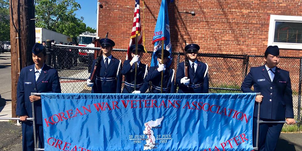 Color Guard Award Ceremony