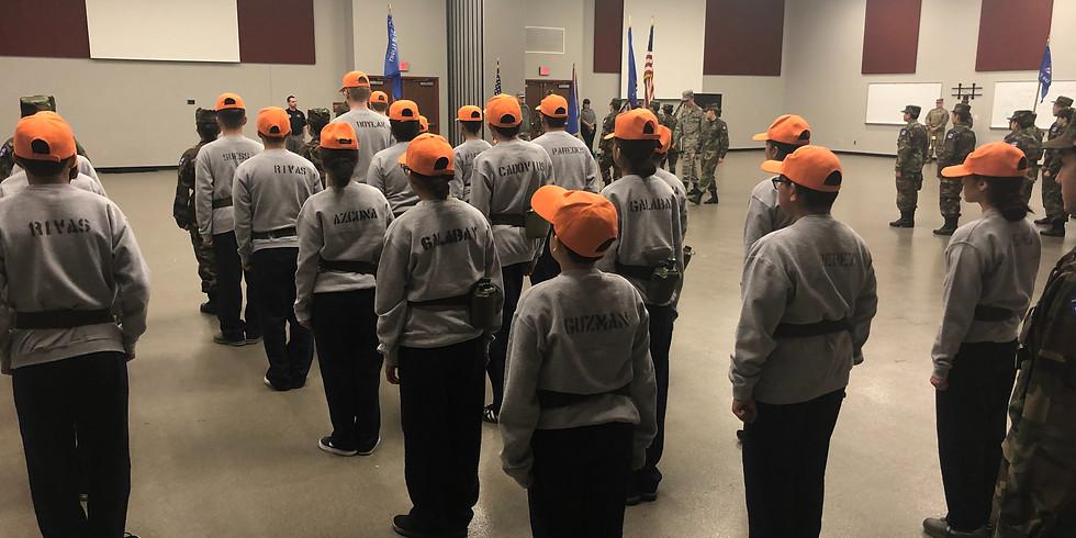 Cadet Promotion Testing Day