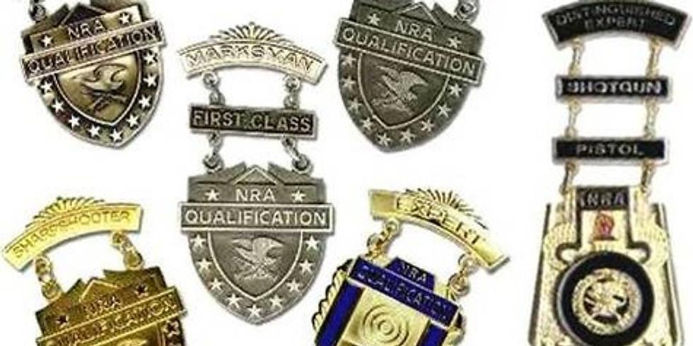 Rifle Marksmanship training and qualifications