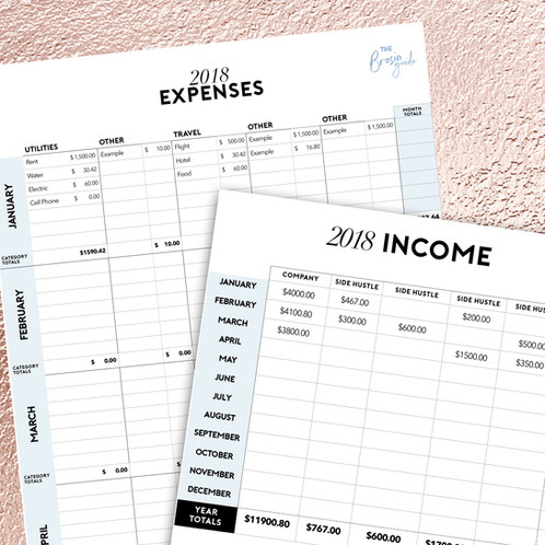 home expenses tracker