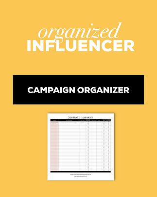 Brand Campaign Organizer