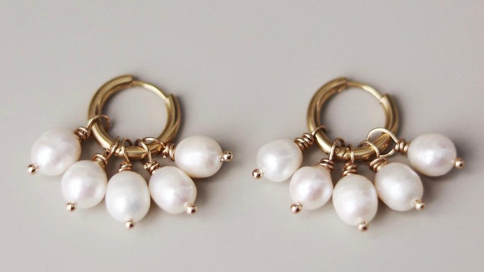 Baby Pearl Earrings