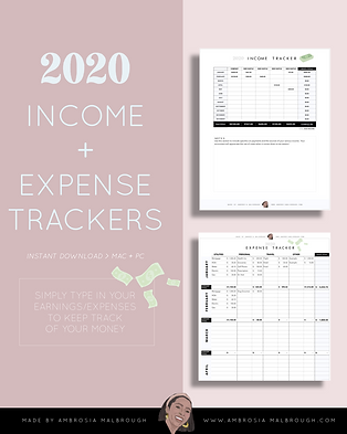 Income Tracker + Expense Tracker