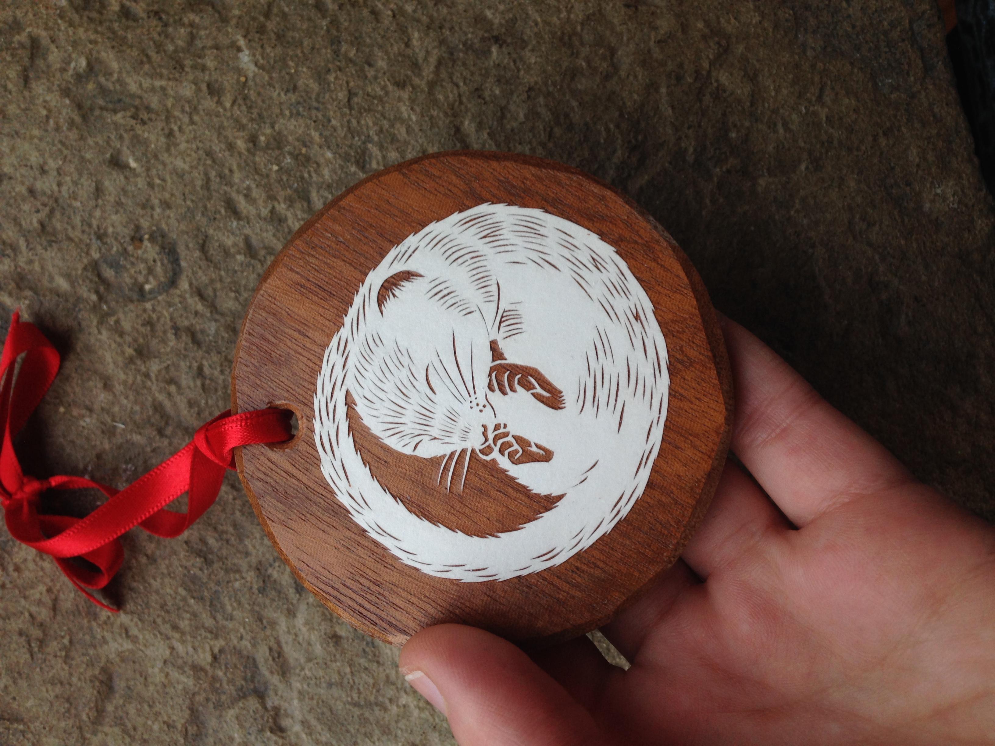 Dormouse ornament
