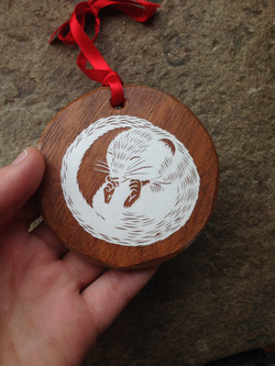 Dormouse ornament