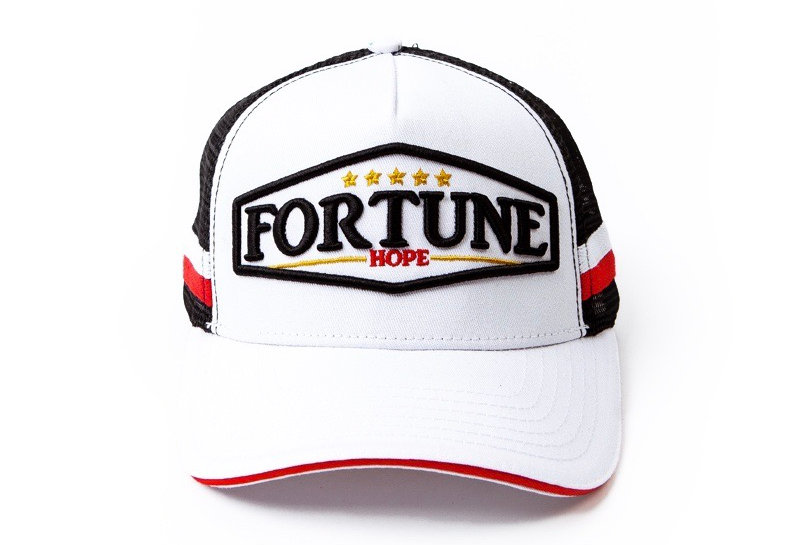 "White Fortune ""Hope"" Mesh Cap"