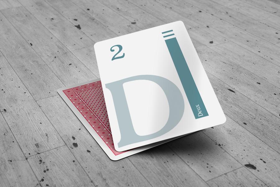 Design Jeu de carte Tak Tic