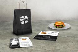 Identité de marque sur un Food Truck
