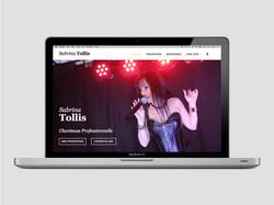 Site Internet de Sabrina Tollis