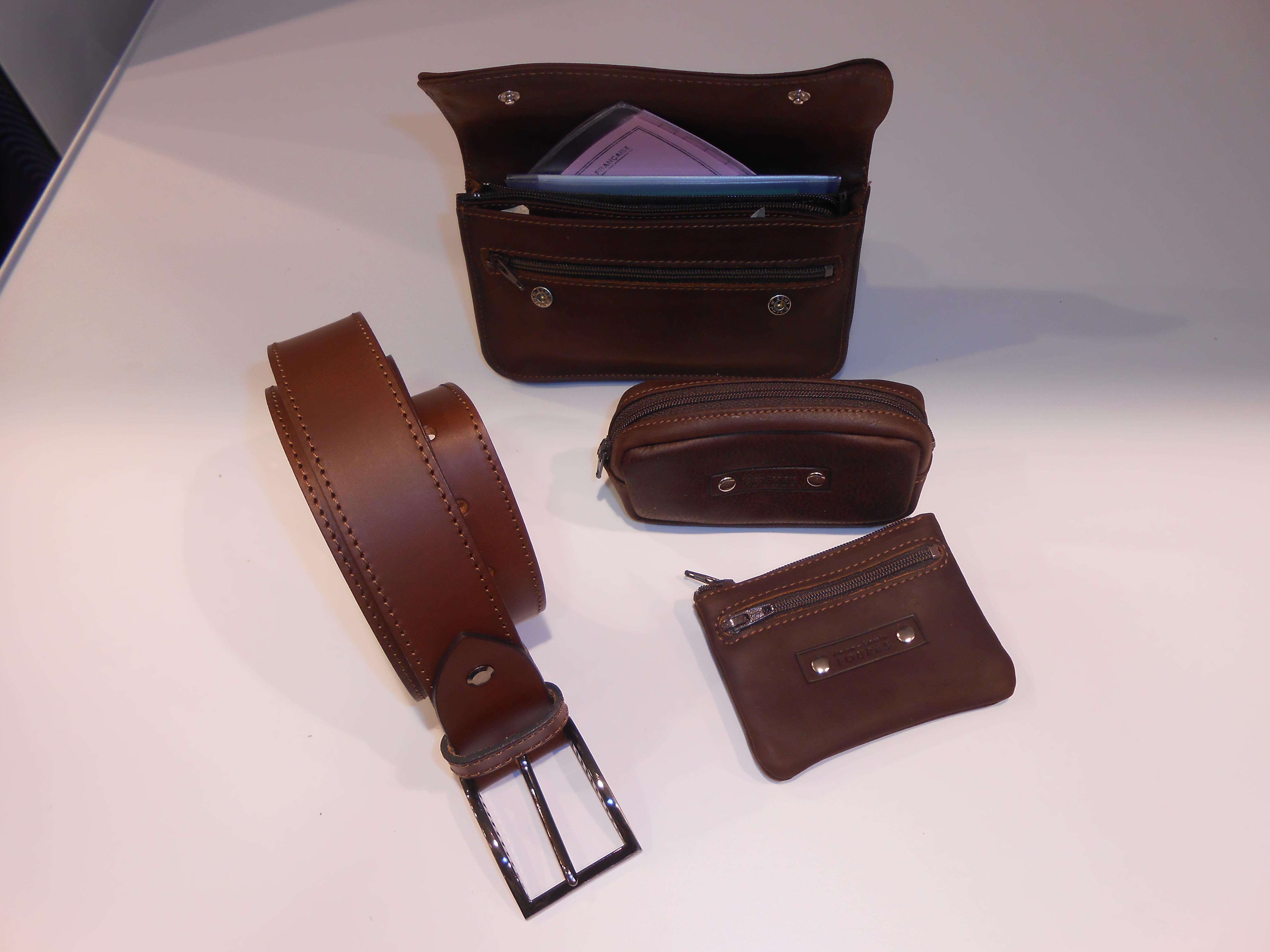 ceinture et pochette ceinture foures