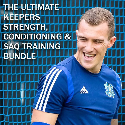 The Ultimate Keepers Strength & Conditioning, SAQ & Fitness Training Bundle
