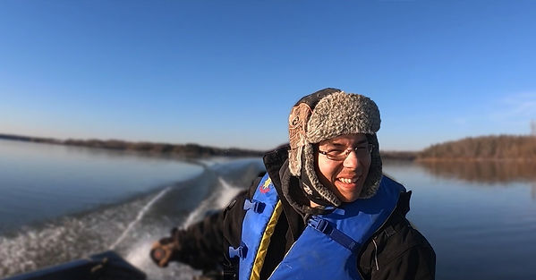 Mapmaker and climate justice spokesperson Cody Anderson of the Nisichawayasihk Cree Nation.