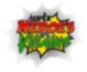 Super Heroes vs Villains Logo