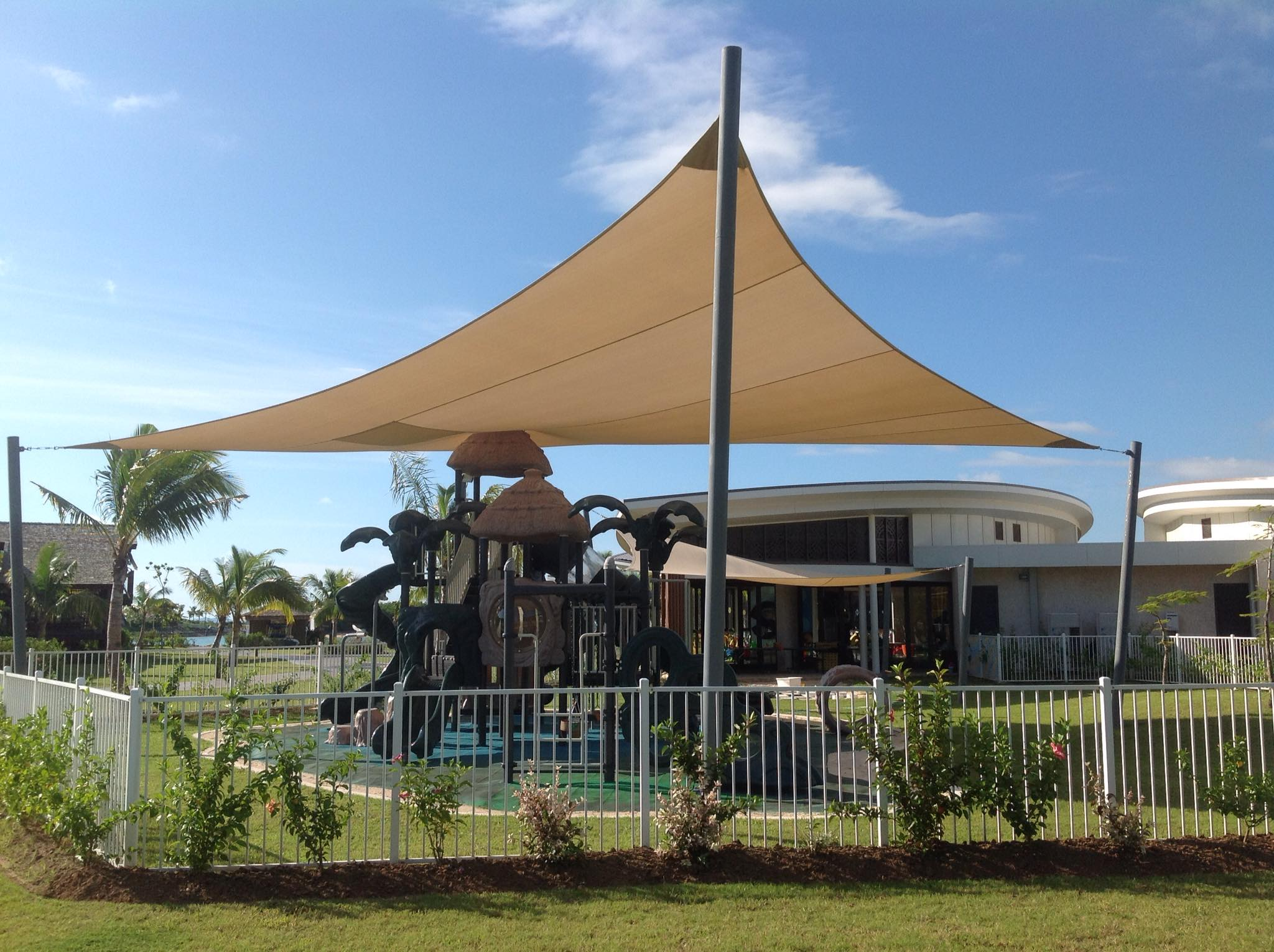 Marriott Momi Bay Playground Shade