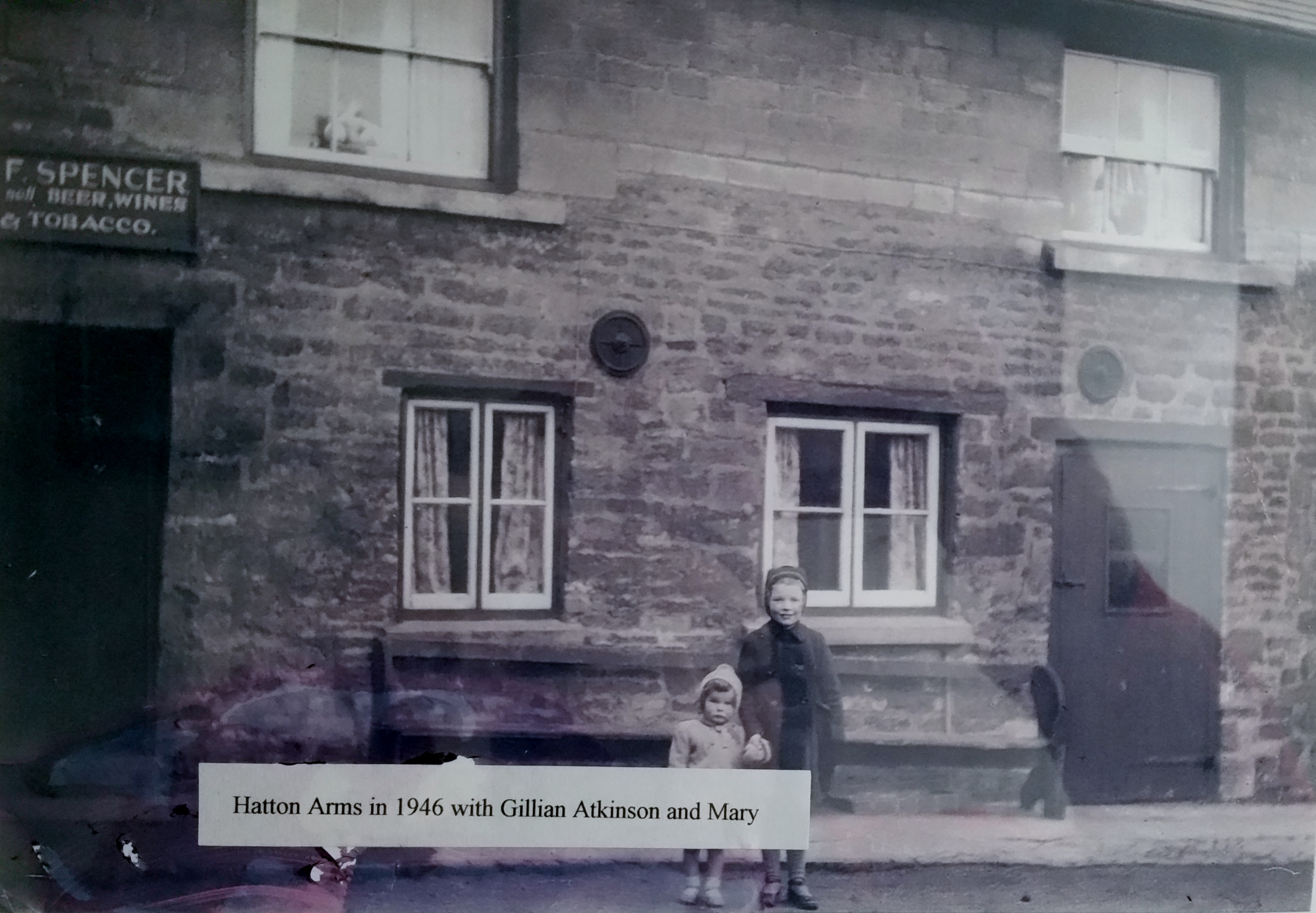 Hatton Arms in 1946