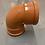 Thumbnail: 110mm x 90° bend (double socket)