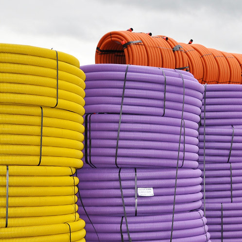 HDPE Twin Wall Coiled Duct