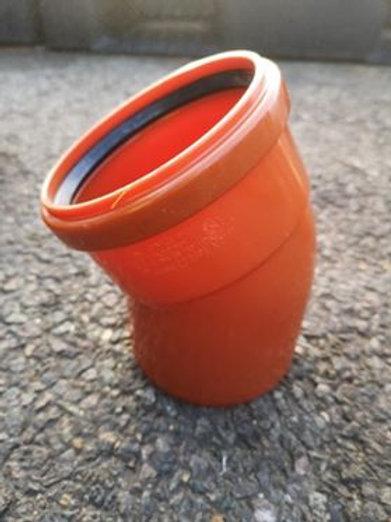 110mm x 45° bend (double socket)