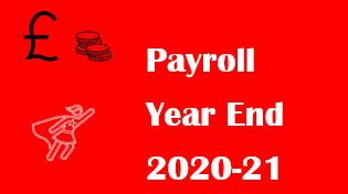 Payroll year end 2020-21
