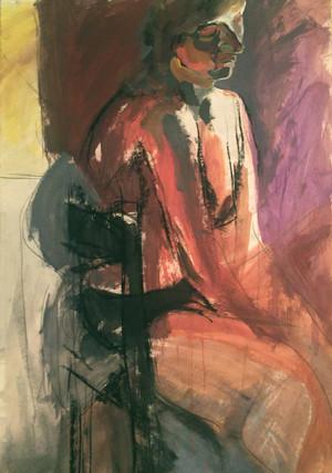 untitled (female, seated)