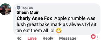 Broomhouses Store Apple Crumble Review.p