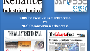 2020 Corona crash v/s 2008 Financial crash: How did Reliance stock vis-a-vis crude oil & Sensex