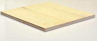 Panneau de bois contreplaqué Invernizzi peuplier brut Imca panels