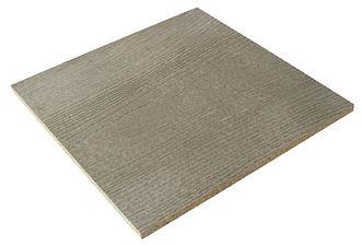 Panneau bois ciment CETRIS PROFIL, façade ventilée bois sans entretien