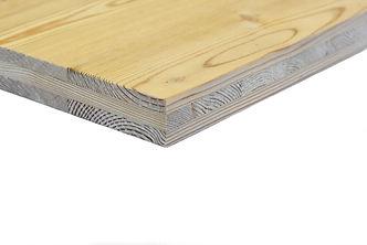 Panneau de bois massif mélèze de Sibérie Novatop 3 plis 5 plis triplis Imca panels