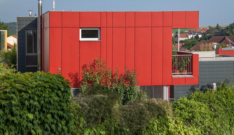 Façade en panneaux bois-ciment CETRIS PROFIL FINISH