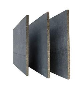 Panneau bois ciment CETRIS INCOL teinté masse noir Imca Panel