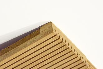 Panneau bois acoustique NOVATOP ACOUSTIC, panneaux 3 plis acoustique