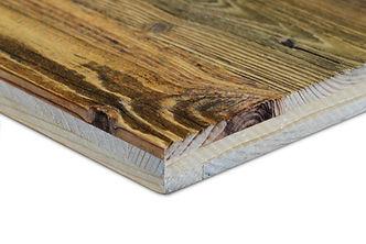 Panneau bois massif 3 plis Vieux Bois recyclé NOVATOP