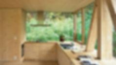 infrastructure en bois massif, maison en bois massif, mur en bois, pièce en bois, plafond en bois, cuisine en bois, panneaux 3 plis et 5 plis, panneaux triplis, panneaux bois massif, Novatop Imca panels