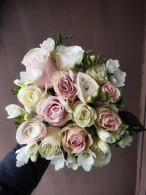 Soft Pinks and Whites