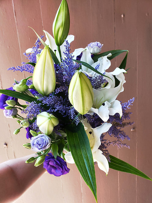 Purples and Whites