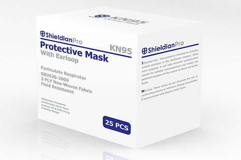 Particulate Respirator KN95 (25 PCS)