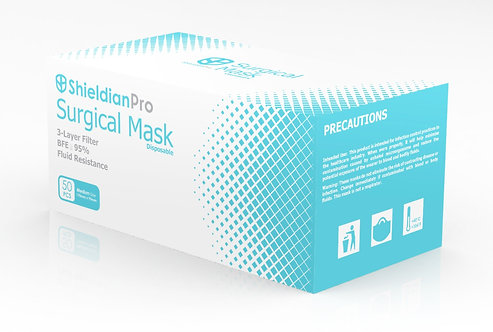 3 PLY Non Woven Surgical Mask (50 PCS)