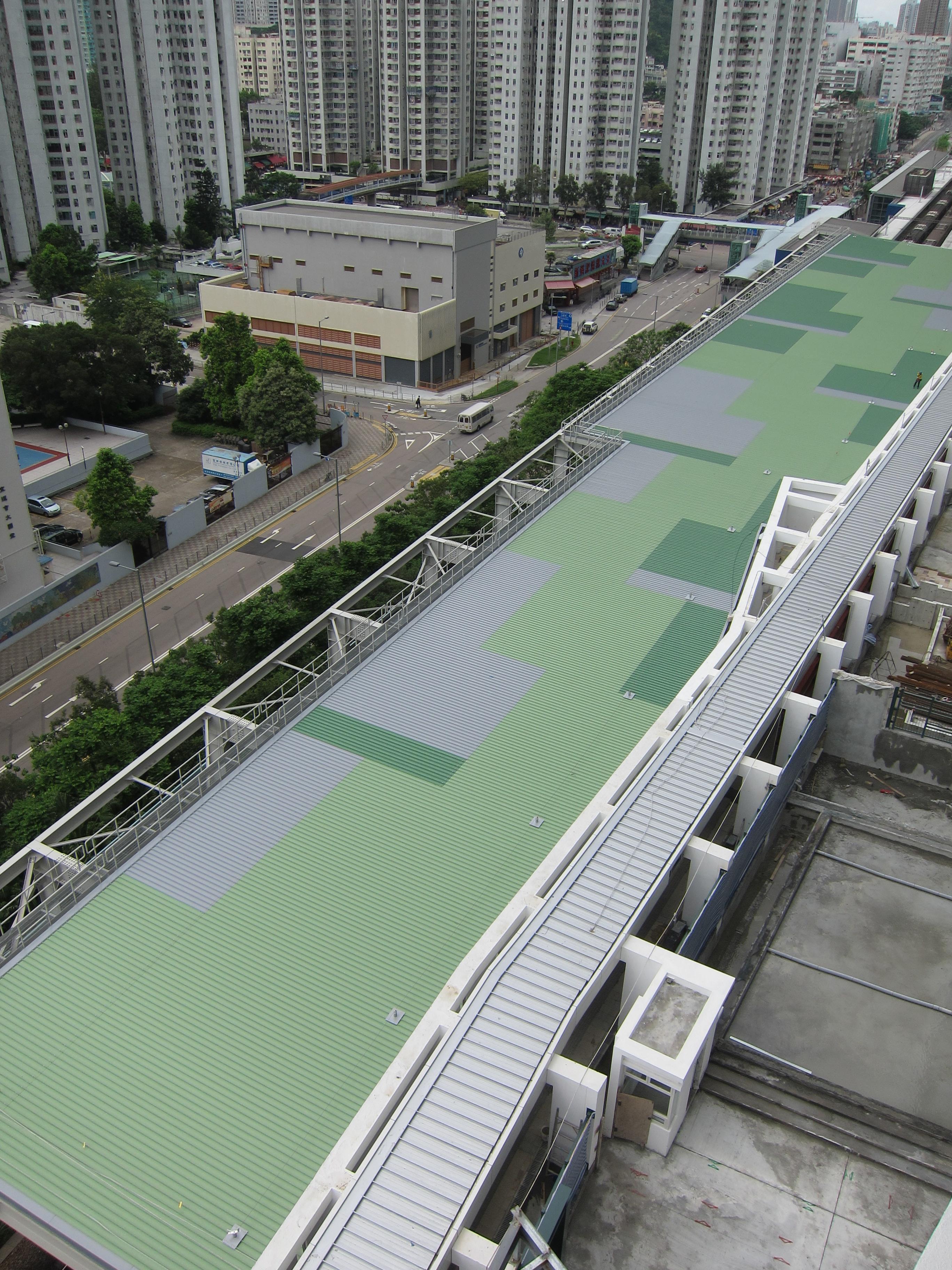 Tai Wan Noise Barrier20110718 Tai Wan Noise Barrier Kliplok