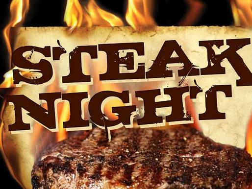 Honor Guard Steak Night 6/25/2021