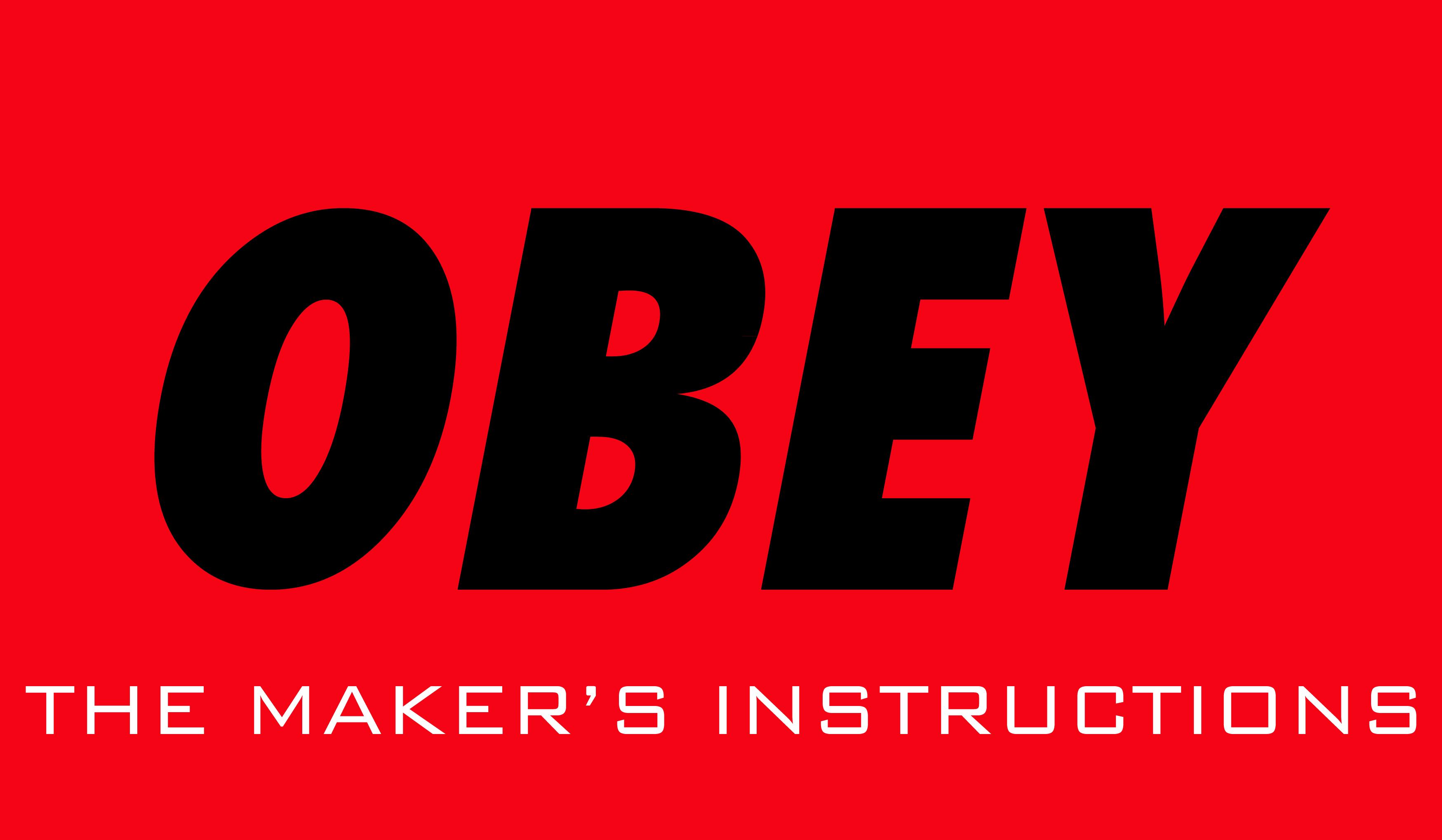OBEY sh'ma