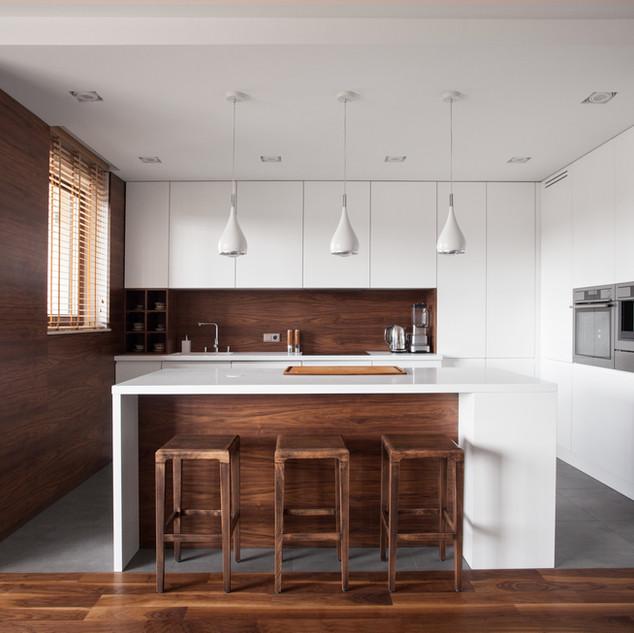 Küche mit Insel
