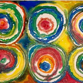 Kandinsky Salt Circles
