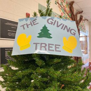 The Leo Club's Holiday Giving Tree