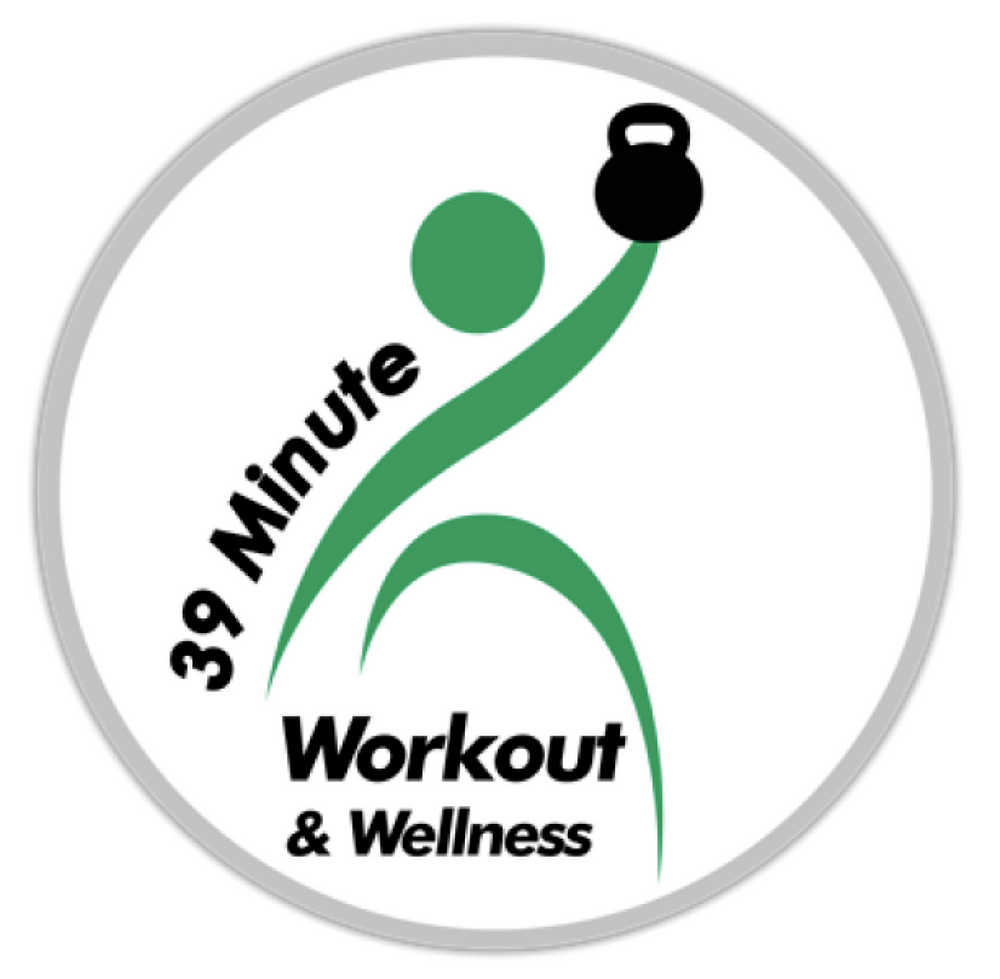 39 Minute Workout & Wellness Logo