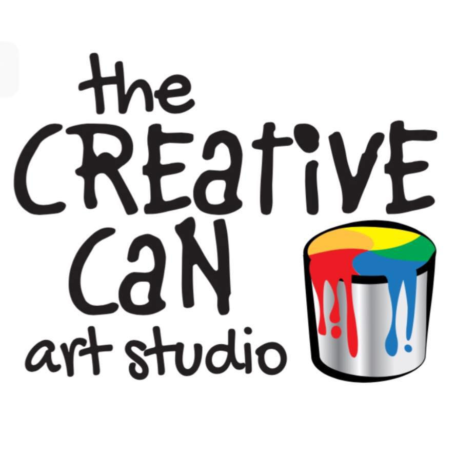 The Creative Can Art Studio Logo