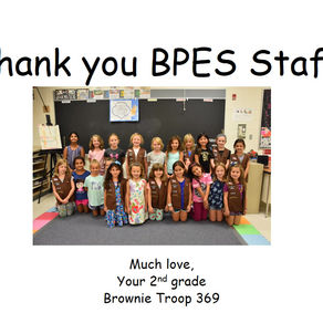 2nd Grade, From: Brownie Troop 369