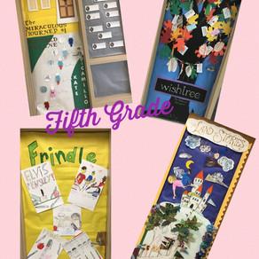 January Reading Month Doors