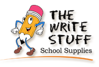 The Write Stuff School Supplies Logo