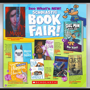 Our Spring Book Fair is Live!
